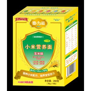 德力滋杂粮营养小米面条-玉米味全国招商
