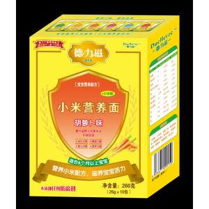 德力滋小米营养面-胡萝卜味全国招商