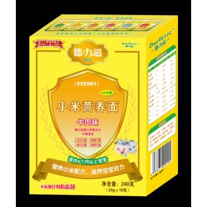 德力滋动物营养小米面条-牛肉味