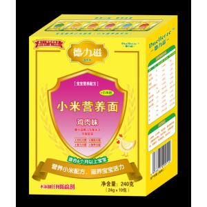 德力滋动物营养小米面条-鸡肉味全国招商
