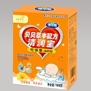 澳尔雅贝贝草本配方清润宝(吃饭香、加钙型)