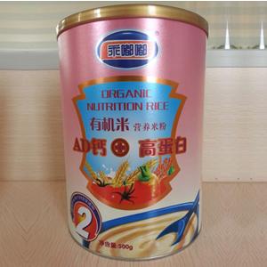 【新品】乖嘟嘟AD钙+高蛋白有机米营养米粉全国招商