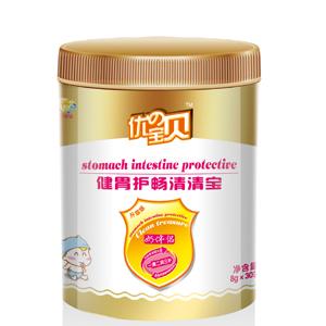 【新品】优の宝贝罐装健胃护畅清清宝全国招商