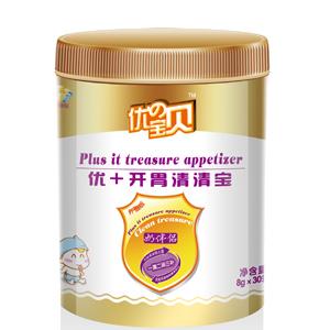 【新品】优の宝贝罐装优+开胃清清宝全国招商