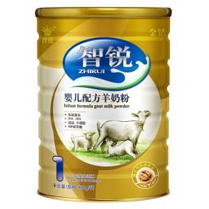 智锐金钻羊奶粉-特别添加有机核桃油和乳铁蛋白