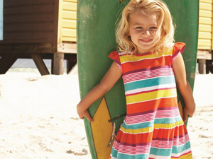 Mothercare为女宝宝特别推出一系列靓丽可人的服饰