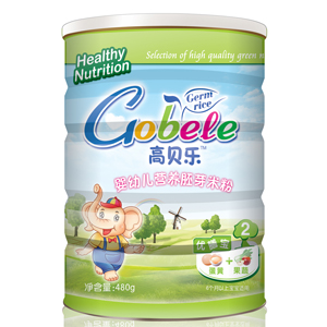 高贝乐胚芽米粉蛋黄+果蔬优膳宝2段(听装)全国招商