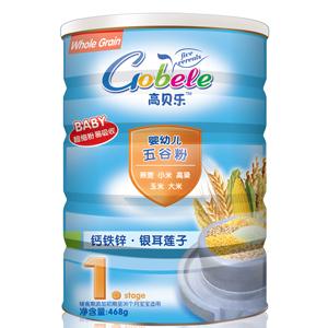 高贝乐五谷粉1段钙铁锌·银耳莲子(听装)全国招商