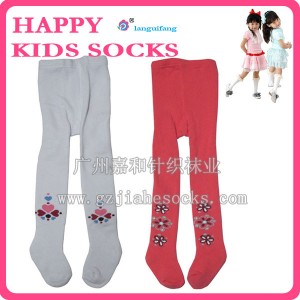 库存毛巾加厚儿童裤袜 外贸毛圈儿童裤袜-广州嘉和童袜厂家