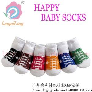 【儿童袜】-加厚BB袜,毛巾婴儿袜,wazi 加工厂