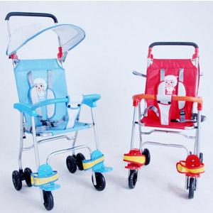 小贝乐A-26自行车电动车使用/折叠宝宝儿童避震安全推车座椅