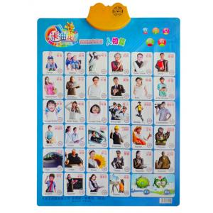 卡迪龙有声挂图 婴幼儿教具 儿童益智玩具 早教挂图