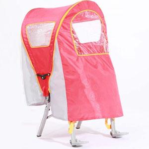 小贝乐自行车电动车座椅雨篷 E-5高档大空间透气舒适型
