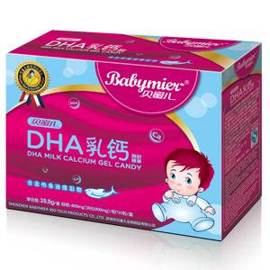 贝蜜儿DHA乳钙软胶丸(凝胶糖果)