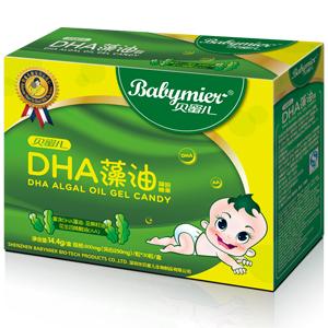 贝蜜儿DHA藻油软胶丸(凝胶糖果)