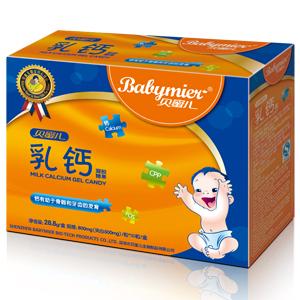 贝蜜儿乳钙软胶丸(凝胶糖果)