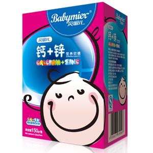 贝蜜儿钙加锌营养软糖(卡通盒装)