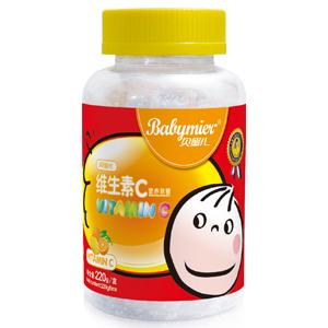 贝蜜儿维生素C营养软糖(卡通瓶装)