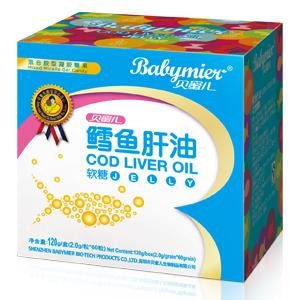 贝蜜儿鳕鱼肝油软糖(金装)