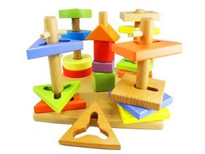 木之宝玩具 渗透着与众不同的创意和构思