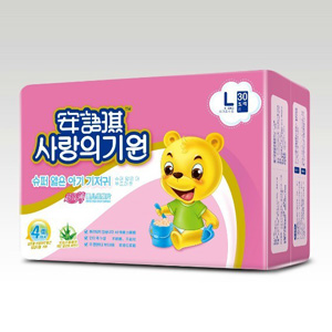 安语琪超级薄婴儿纸尿片L