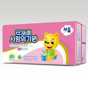 安语琪超级薄婴儿纸尿片M