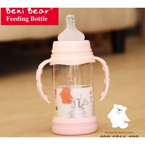 玻璃  奶瓶  邦尼熊   BOBO  贝亲  奶嘴
