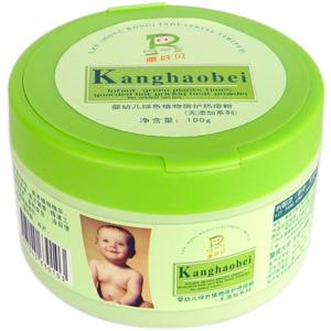 康好贝嬰幼兒綠色植物倍護熱痱粉