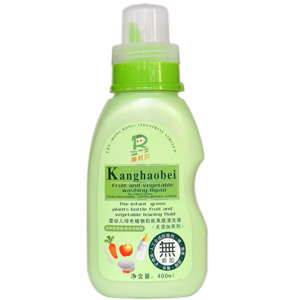康好贝嬰幼兒綠色植物奶瓶果蔬清洗液