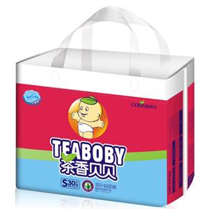 柯佳C2干爽透气茶叶纸尿裤S30片