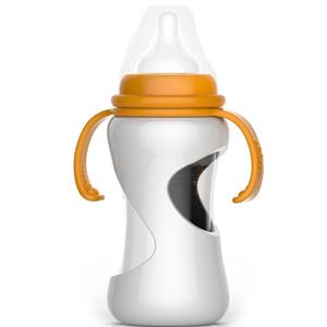 拍拍手防摔玻璃奶瓶LCF-201316
