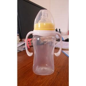 宽口径300ml婴儿奶瓶 PP奶瓶OEM加工贴牌 奶瓶批发