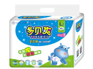 【新品】多贝爽纸尿裤 让宝宝的尿液无处可逃