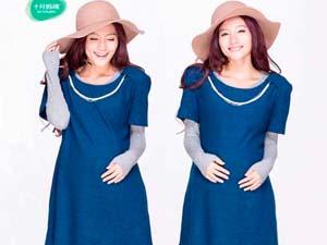 十月妈咪新款时尚针织连衣裙 展现女性线条美