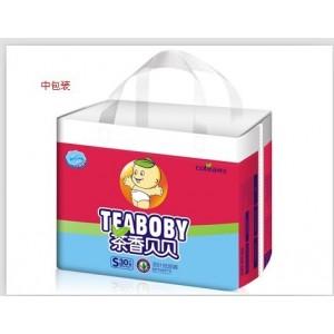 茶叶纸尿裤(茶香贝贝)红包装 空白区域招商