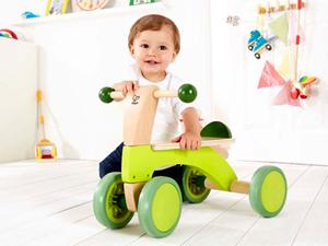 Hape新奇踏行车 让宝宝体验到踏行的乐趣