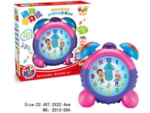 闹钟学习机 是宝宝们必备的实用玩具