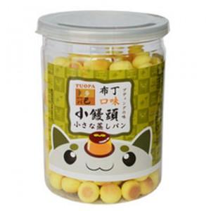 台湾多巴 TUOPA 小馒头 布丁味 130g