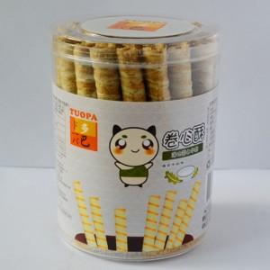 多巴卷心酥 海苔牛奶味 175g 新包装