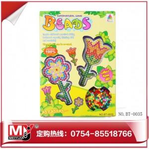 厂家直销批发儿童益智DIY烫压拼画系列拼拼豆豆BT-0035