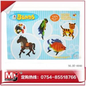 厂家直销儿童益智烫压拼画系列拼拼豆豆BT-0040