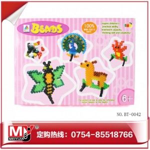 2013热销DIY烫压拼画玩具 迷你豆豆BT-0042