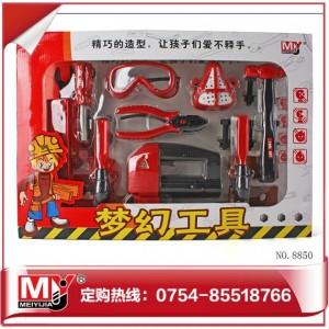 厂家热款环保材质过家家工具 梦幻工具 6款混装 8850A