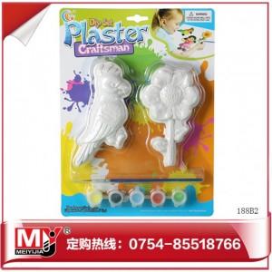 厂家火拼低价儿童早教涂鸦DIY石膏彩绘 188B2