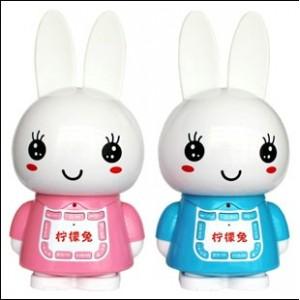 供应智力玩具 柠檬兔早教故事机 亲子教具 宝宝益智玩具
