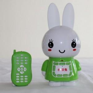 厂家直销儿童玩具早教机 柠檬兔4G耐摔益智遥控故事机批发