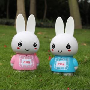 儿童玩具批发 柠檬兔故事机 4G内存充电下载早教学习机新款