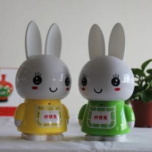 正品新款儿童早教机故事机 柠檬兔火火兔故事机批发 益智玩具
