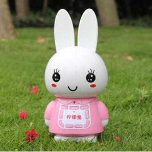 柠檬兔儿童动物早教学习机玩具 婴幼儿益智启蒙故事机 可混批