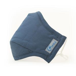 绿精灵藏青色防霾抗菌口罩